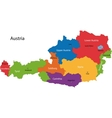 Austria ma vector image