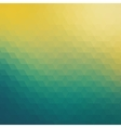 Colorful geometric background with triangles vector image vector image