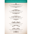 Design elements and page decorations set vector | Price: 1 Credit (USD $1)
