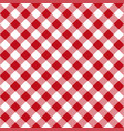 picnic table cloth seamless pattern red picnic vector image