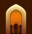 ramadan kareem beautiful greeting card vector image vector image