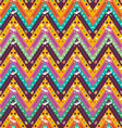 Seamless colorful aztec geometric pattern vector image vector image