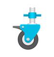 wheel scaffolding icon vector image vector image