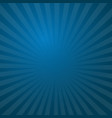 sunburst blue rays pattern radial sunburst ray vector image