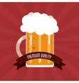 Beer icon design vector image vector image