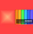 diamond pattern set rainbow seamless geometric vector image