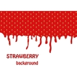 Fresh Strawberry background vector image