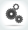 gear and cogwheel vector image