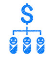kid budget grunge icon vector image vector image