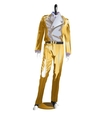 Mens festive costume clothes on a mannequin vector image