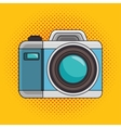 photo camera pop art icon design graphic vector image