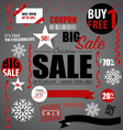Price tag sale coupon voucher vector image