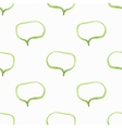 Seamless watercolor pattern with speech bubbles vector image