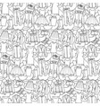 woman clothes seamless pattern vector image vector image