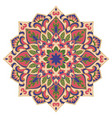 abstract mandala vector image