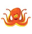big octopus vector image vector image