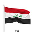 flag republic iraq vector image