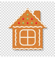 gingebread house vector image