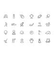 golfing icon sport club symbols bag with vector image vector image