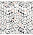 ikat geometric zigzag pattern tribal ethnic theme vector image vector image