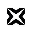 letter x initial logo
