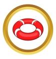 Lifeline icon vector image
