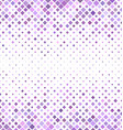 Light purple square pattern background design vector image vector image