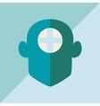 Craniofacial surgery vector image