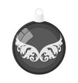 ball single icon in flat stylea toy symbol vector image