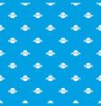 fresh citrus pattern seamless blue vector image
