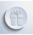 gift web icon vector image