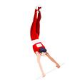 Gymnastics High Bar 2016 Sports 3D vector image vector image