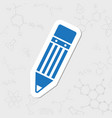 pencil icon vector image vector image