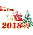 Santa claus under the tree