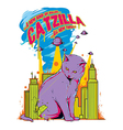 Catzilla vector | Price: 1 Credit (USD $1)