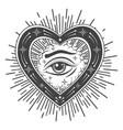 eye providence tattoo esoteric vector image vector image