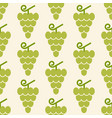 grapes pattern vector image