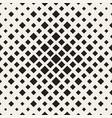 halftone seamless geometric pattern monochrome vector image