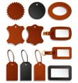 Leather labels vector | Price: 1 Credit (USD $1)