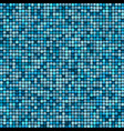 mosaic tile background aqua colours vector image
