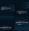 Programming courses banner for social media
