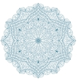 Round Mandala with hand-drawn decorative elements vector image vector image