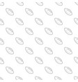 rugby ball pattern seamless vector image