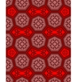 Seamless ornament tile pattern vector image