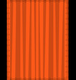 striped orange background with cute vertical vector image vector image