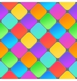 Abstract 3d geometric background Colorful vector image