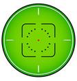 crosshair reticle graphics vector image