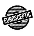eurosceptic rubber stamp vector image