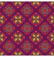 festive floral seamless pattern vector image vector image