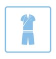 Tennis man uniform icon vector image vector image